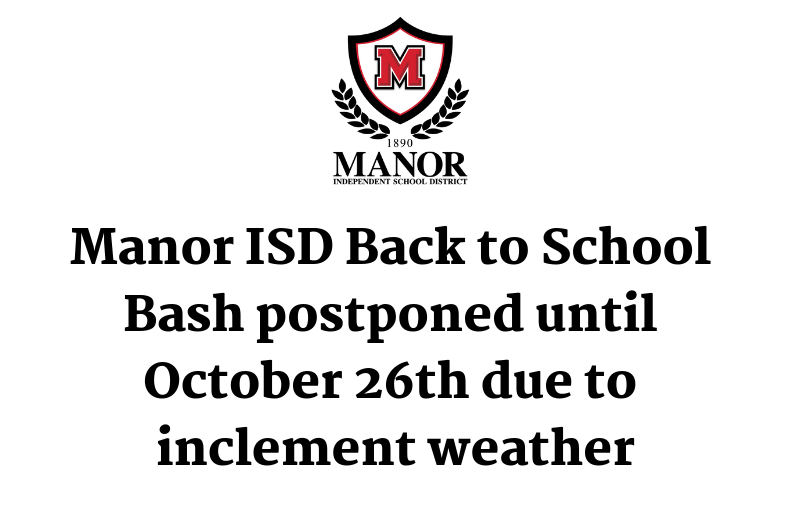 Back to School Bash Postponed to October 26 Due to Inclement Weather Thumbnail Image