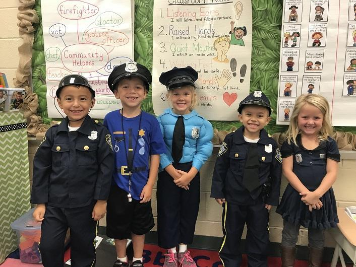 BES Student Future Police Officers