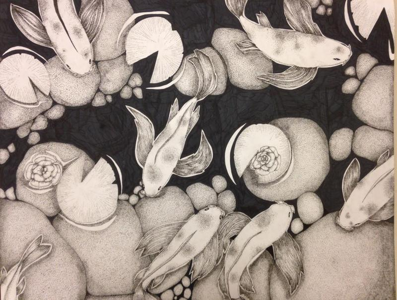 Students receive honorable mentions at Boston Globe Art Competition Featured Photo