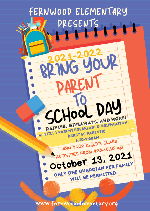 Bring Your Parent to School Day!!! Thumbnail Image