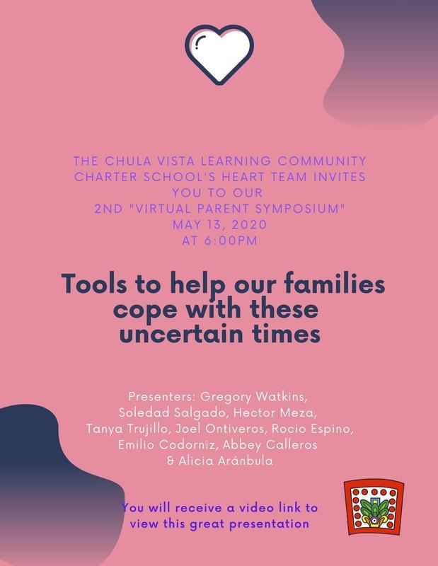 CVLCC 2nd Virtual Parent Symposium Featured Photo