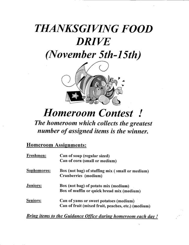 CSC Thanksgiving Food Drive Featured Photo