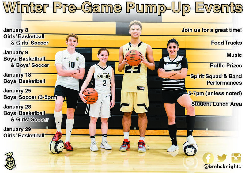 Join Us for Our Pre-Game Pump Up Events Thumbnail Image
