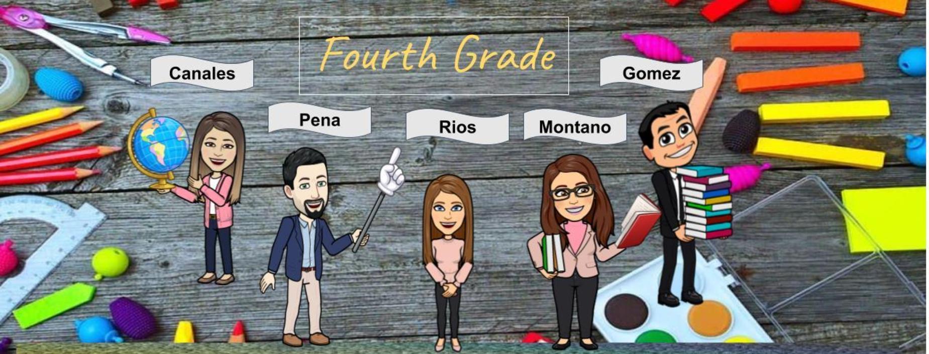 4th grade staff emoji