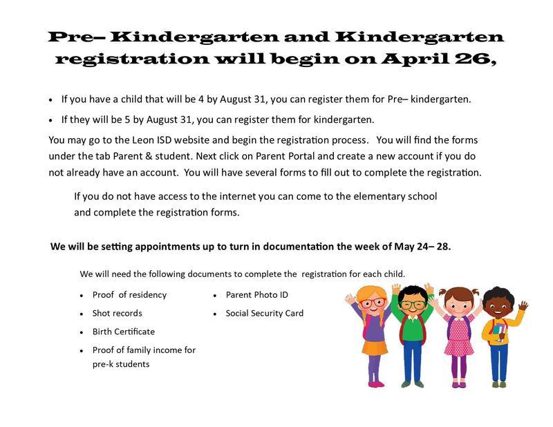 Pre-Kindergarten and Kindergarten Registration Featured Photo