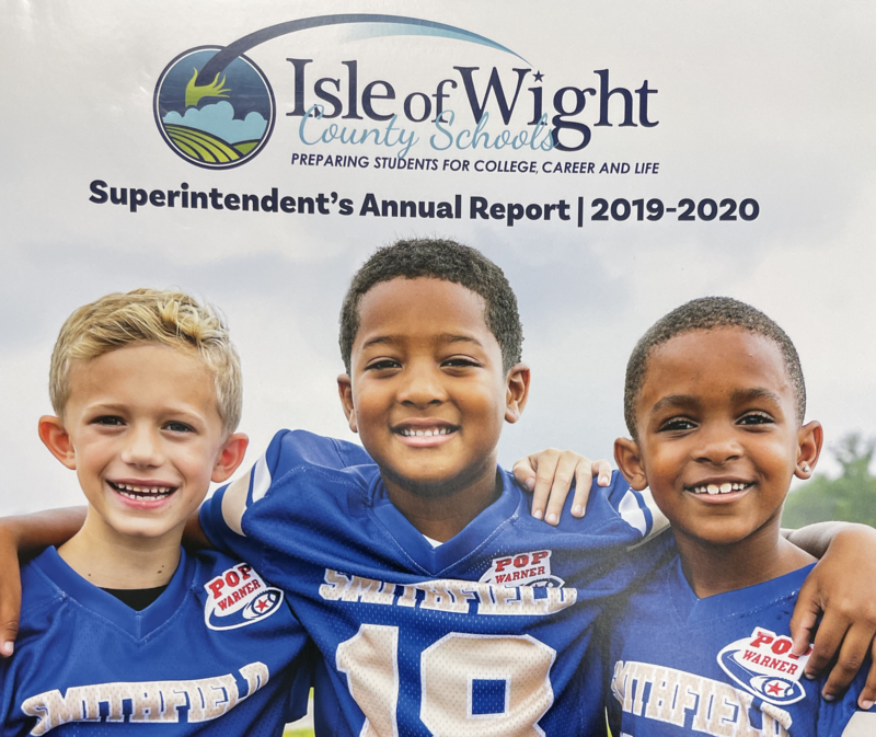 Cover of IWCS 2019-2020 Superintendent's Annual Report
