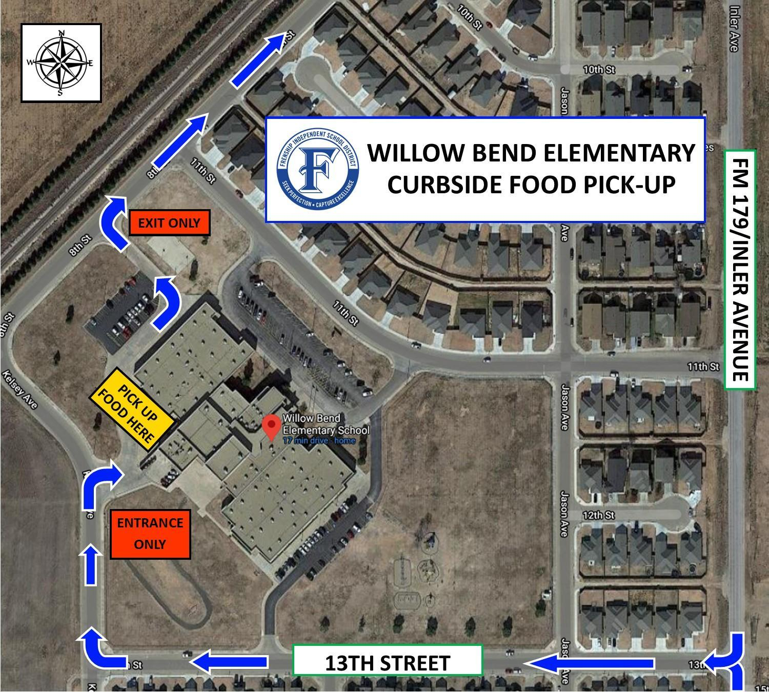 Willow Bend Map