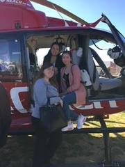 Girls at REACH Helicopter