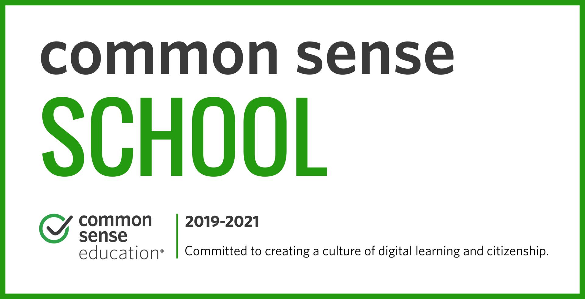 Common Sense Education Recognition
