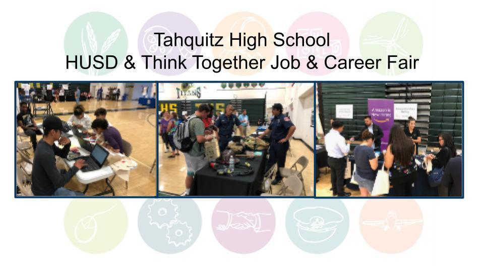 HUSD & Think Together Job & Career Fair