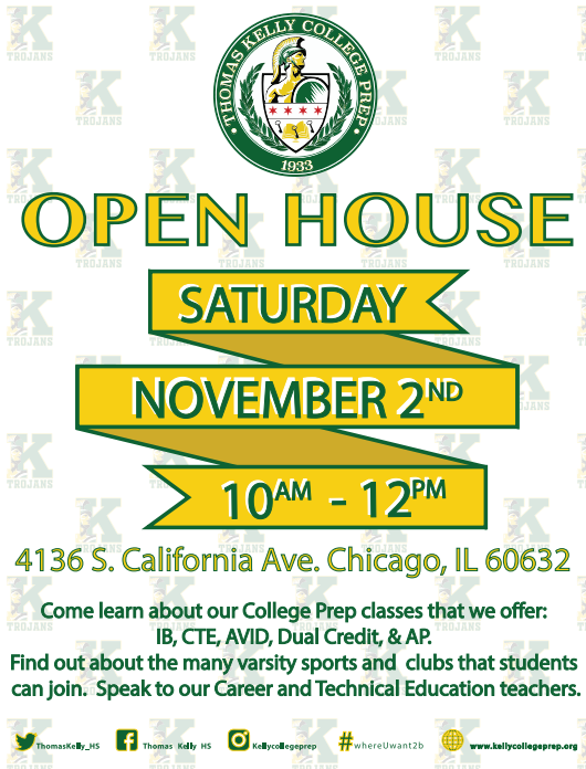 8th Grade Open House 11.2.19 10am-12pm Featured Photo