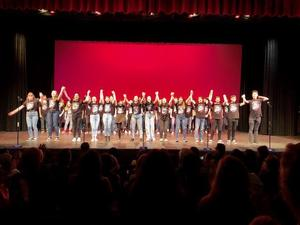 students performing at theatrefest