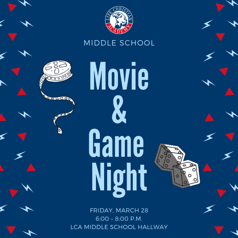 Middle School Movie & Game Night Featured Photo