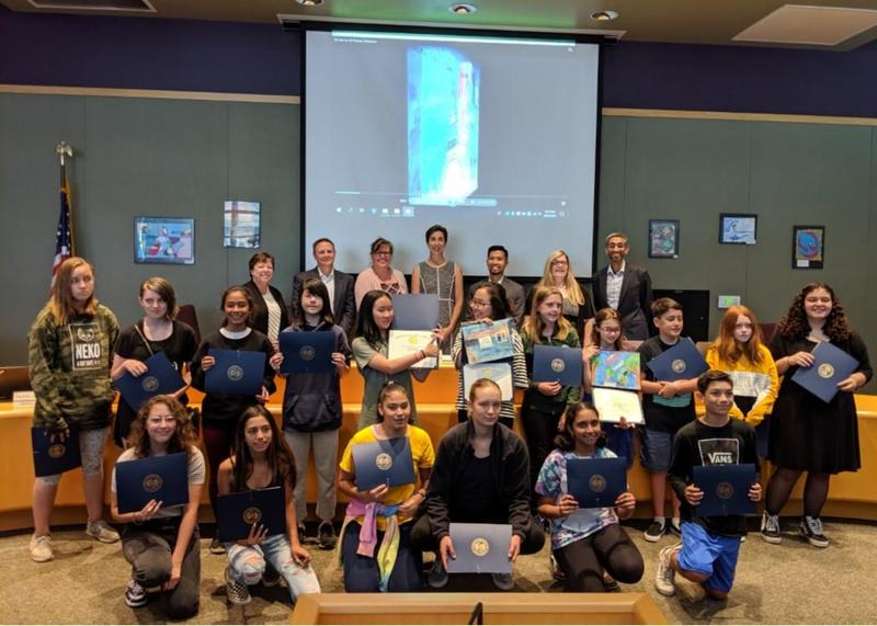 Payne & Easterbrook Discovery Students Honored for Participation in County Art Program Thumbnail Image