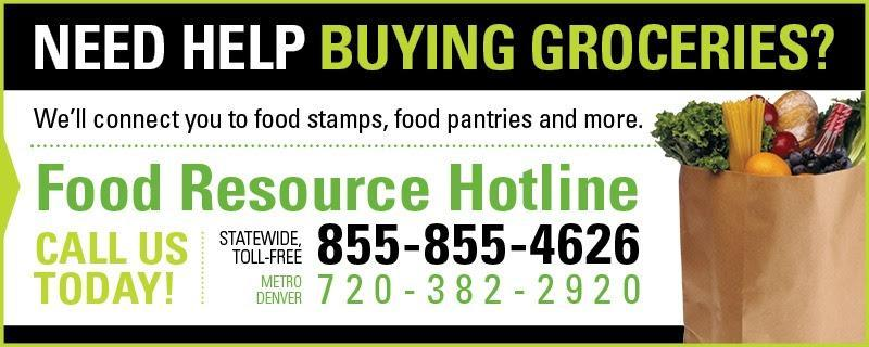 food resource hotline