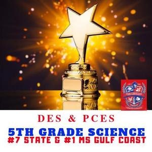 PCSD 5th Grade Science #7 in State and #1 MS Gulf Coast