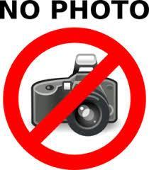 Clip art for no picture taking.