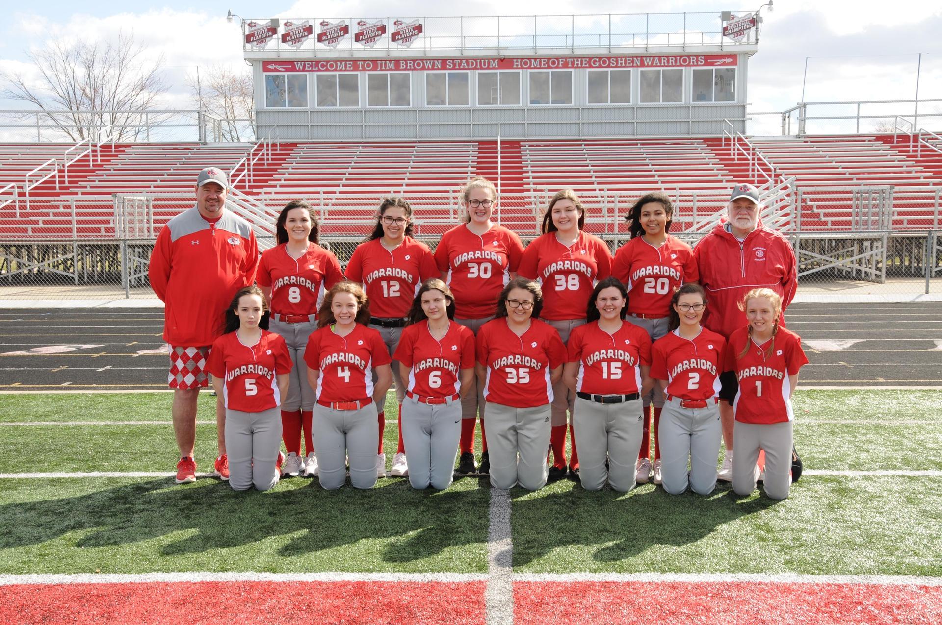 2019 Girls JV Softball