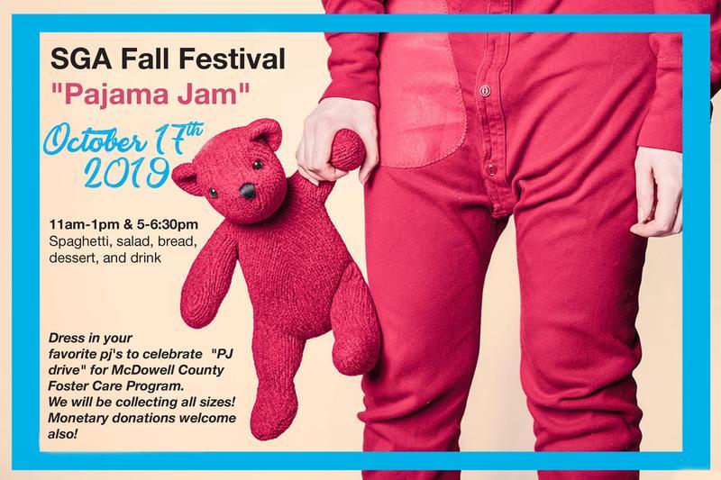 Fall Festival PJ Drive poster