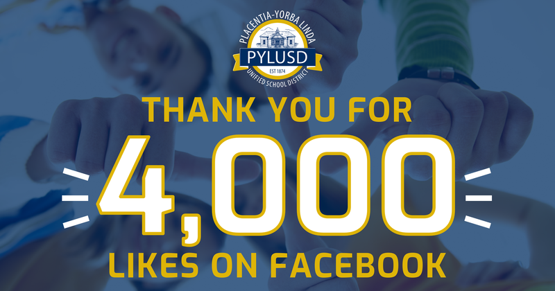 4,000 likes on FB graphic.