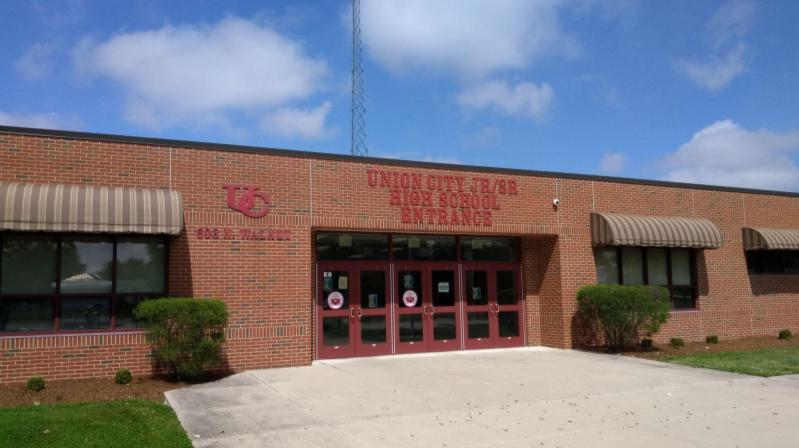 Jr-Sr High School Main Entrance