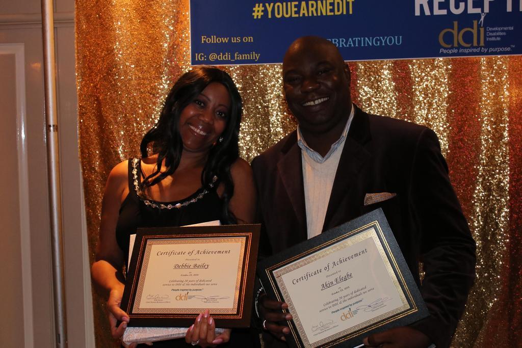 20-Year Service Award recipients