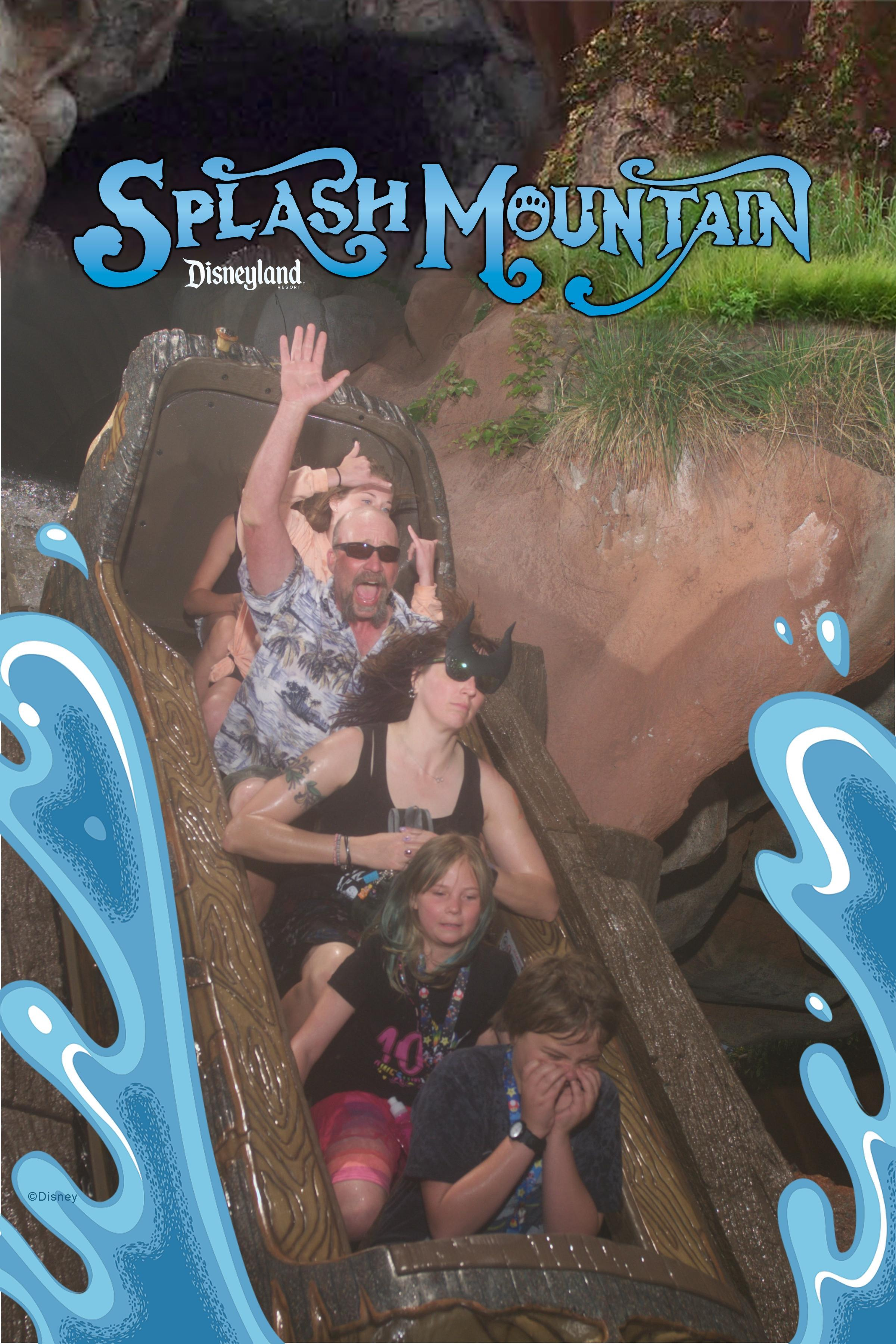 Splash Mountain is AWESOME!!