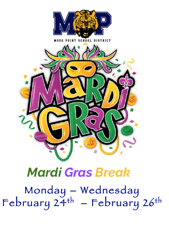 MARDI GRAS BREAK