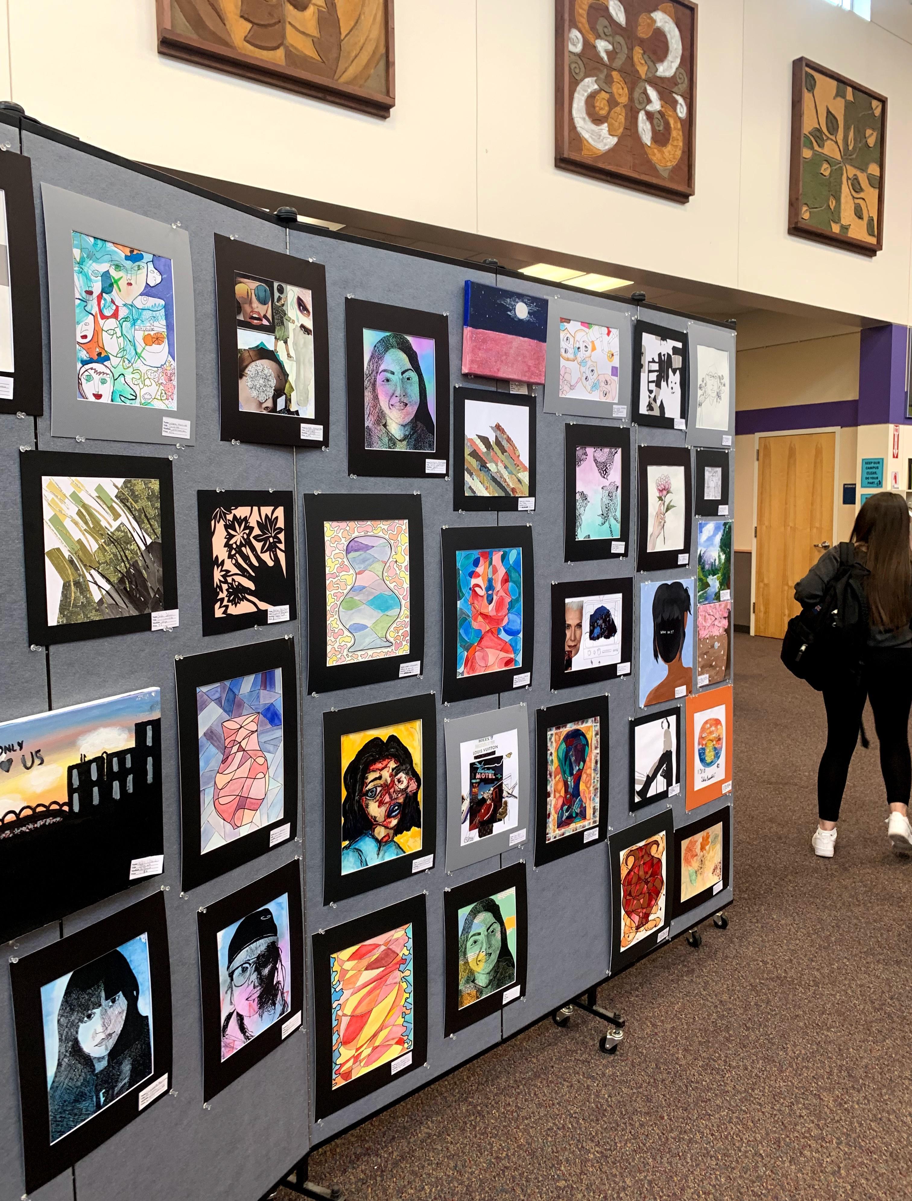 WACA Art Night - Student Art Work