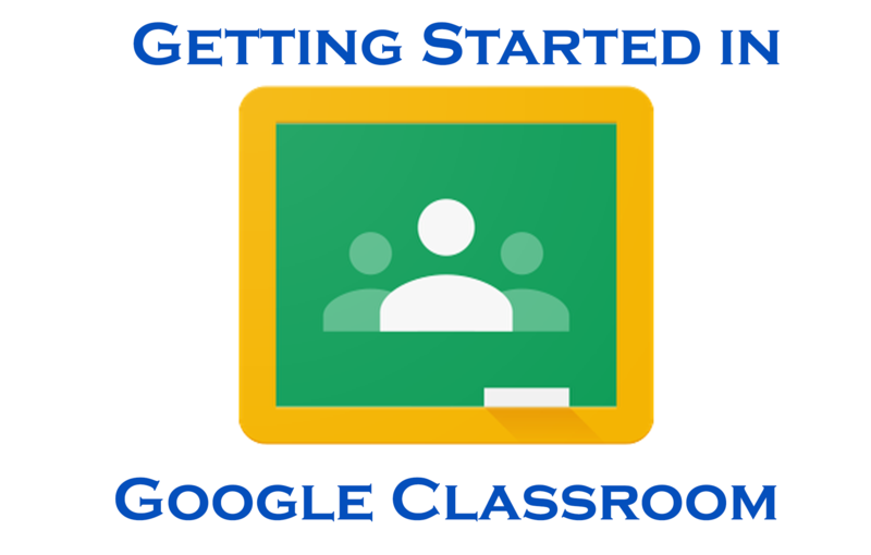 Getting Started in Google Classroom Featured Photo