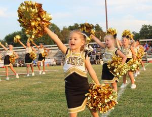 Future Jacket cheerleaders