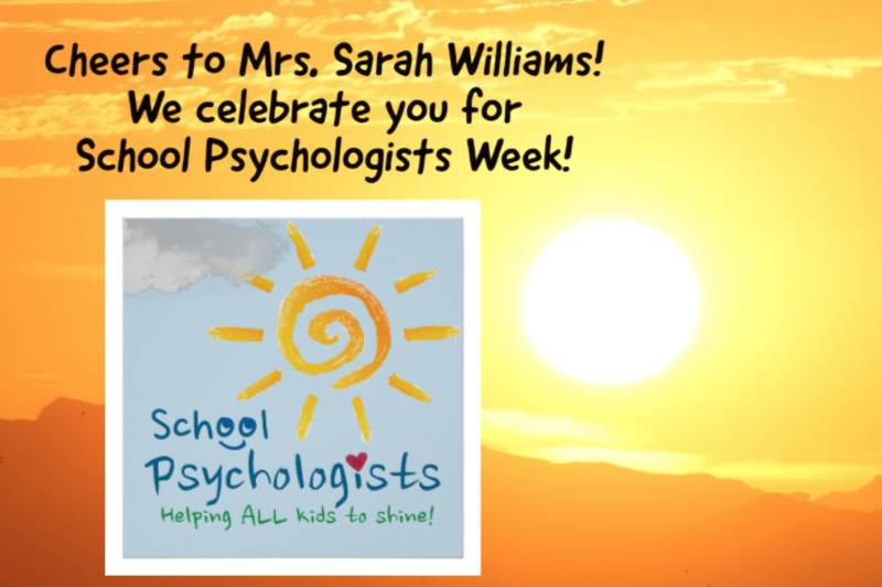 School Psychologists Week!
