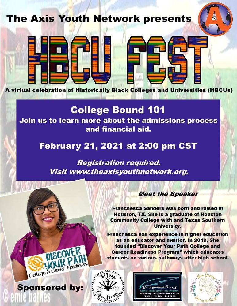 HBCU Fest 2021-College Bound 101