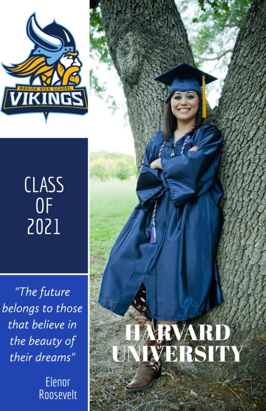 Senior Portraits for 2021/2022 School Year Thumbnail Image