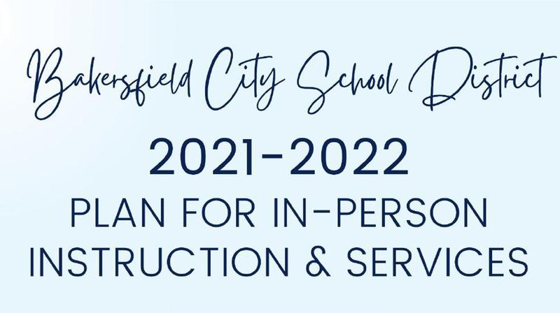 2021-2022 Plan for In-Person Instruction & Services Featured Photo