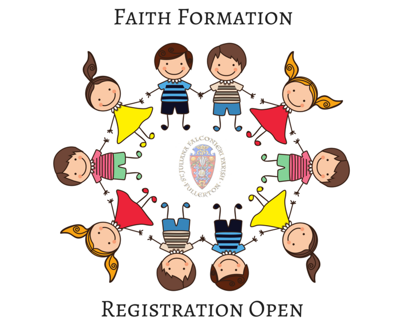 Faith Formation Registration is OPEN! Featured Photo