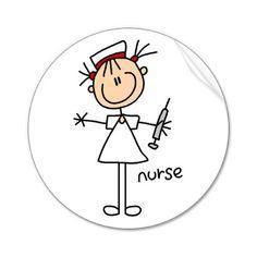 fun nurse character