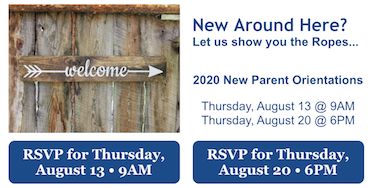Welcome New Families! Featured Photo