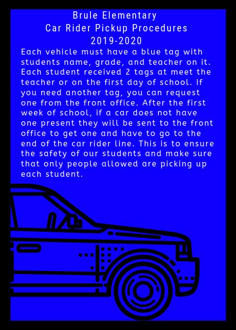 Car Rider Pickup Procedures Featured Photo