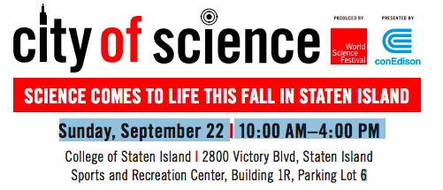 City of Science Event Flyer