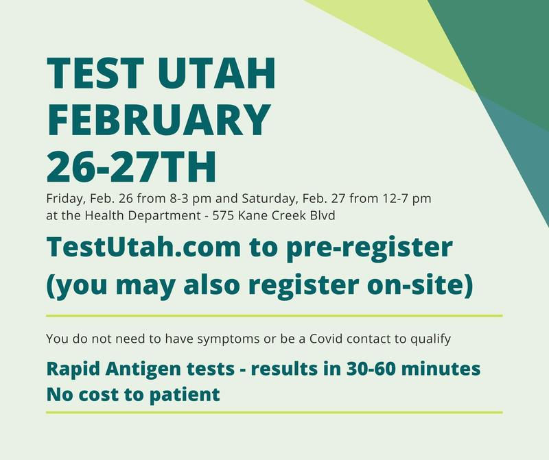Free COVID-19 Rapid Testing on Feb 26-27 Featured Photo