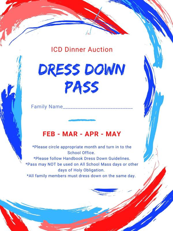 Dinner Auction Dress Down Passes Available Featured Photo