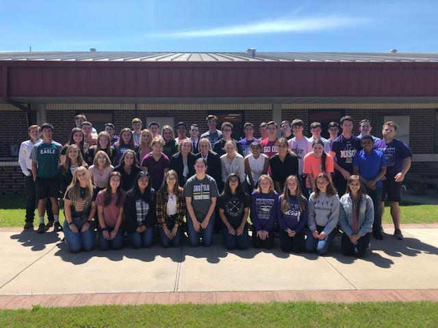 District UIL Academic Competitors