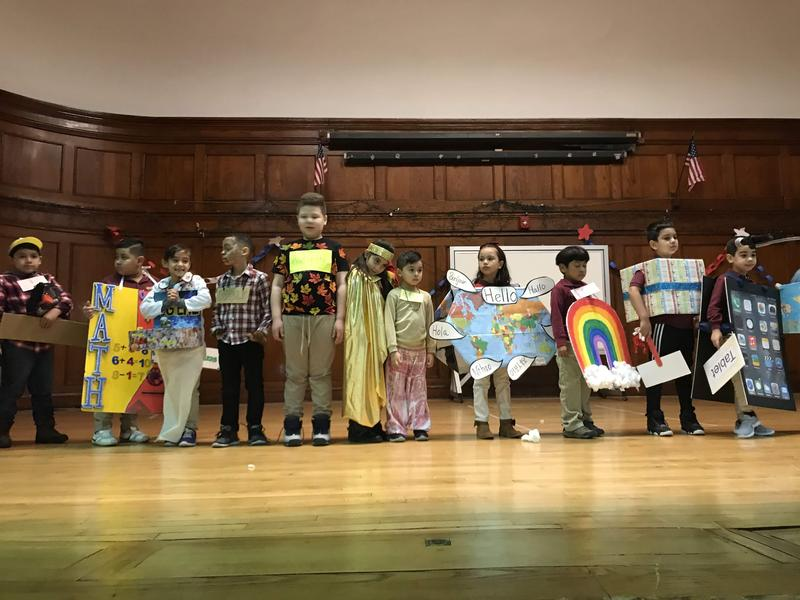 1st and 2nd Grade Vocabulary Parade Featured Photo