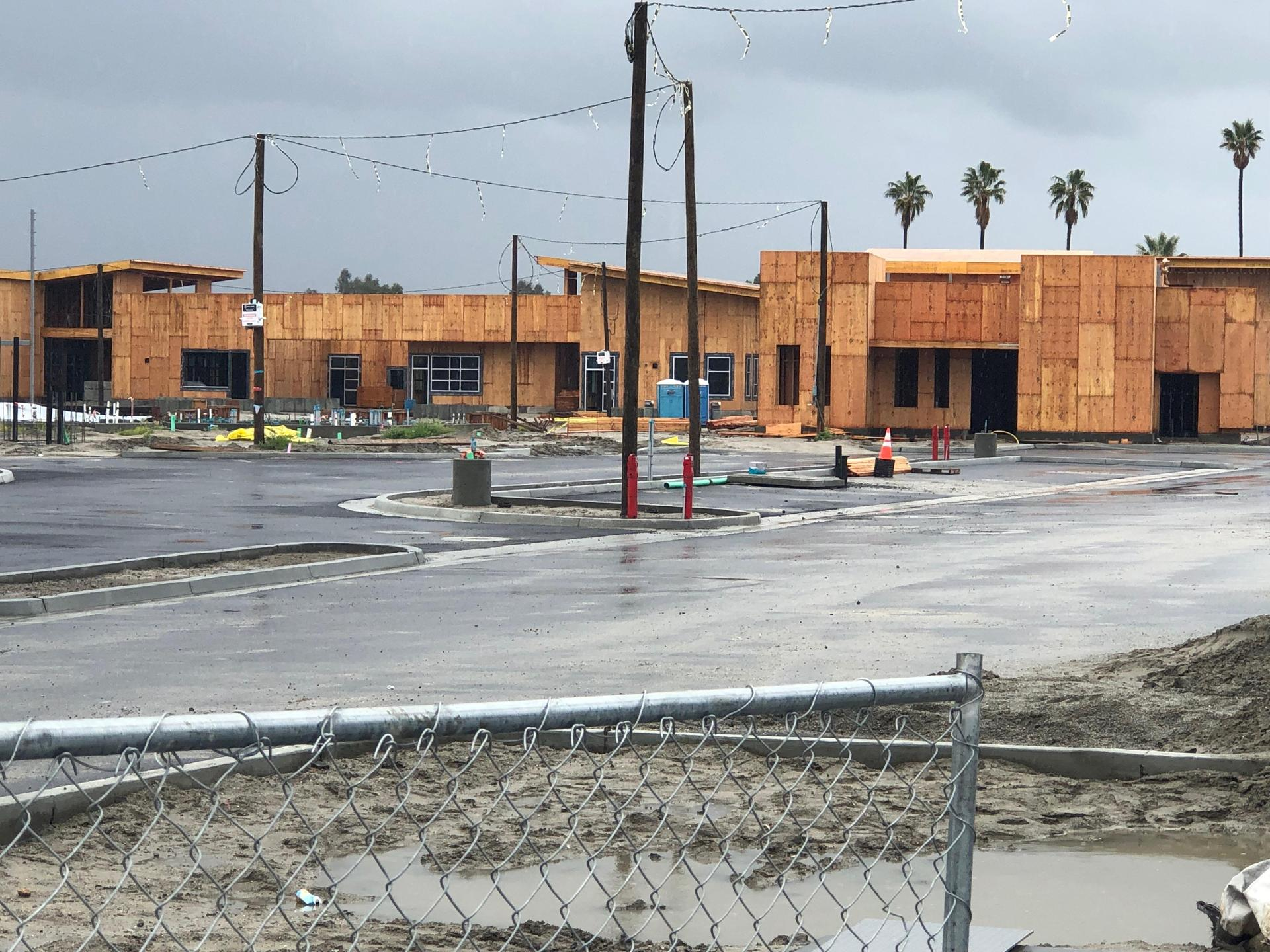 New middle school construction photo