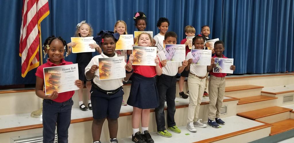 4th Term - 1st Grade Awards