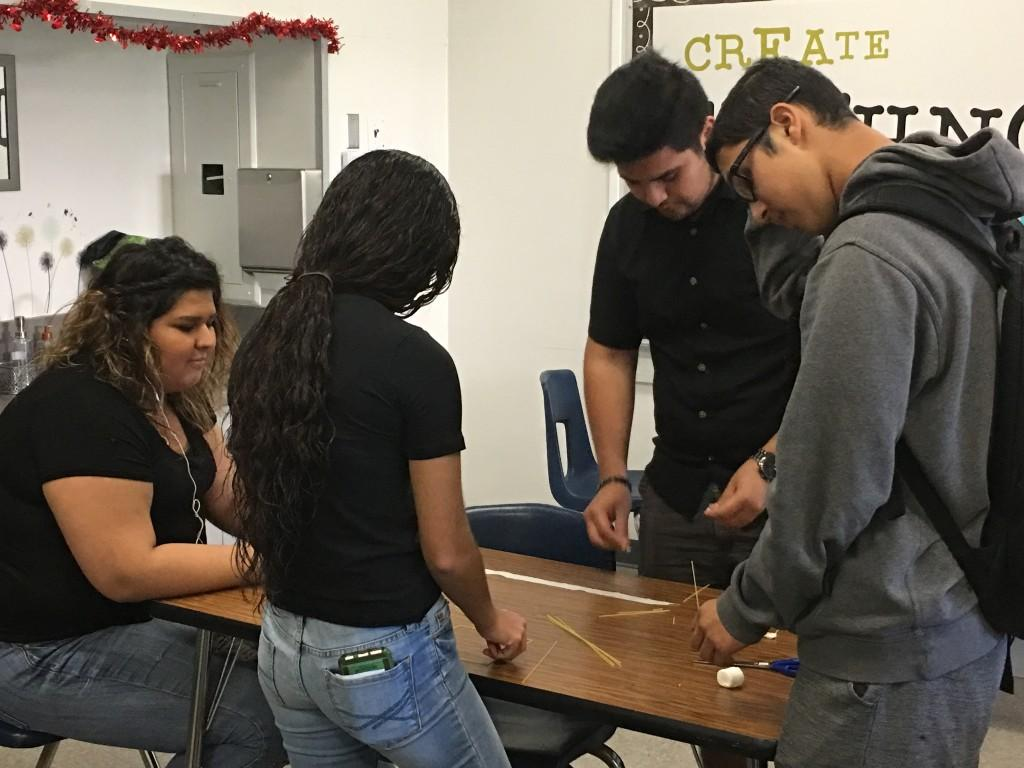 Students planning together