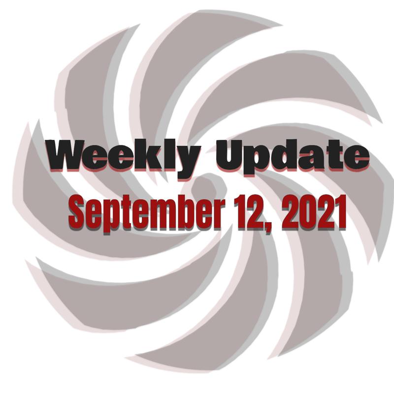 Weekly Update 9-12-2021