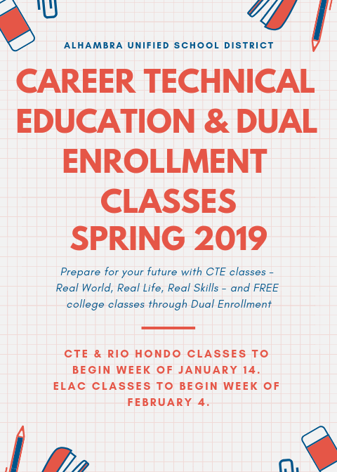 Free Afterschool CTE (HS Credit) & Dual Enrollment (College Credit) Featured Photo