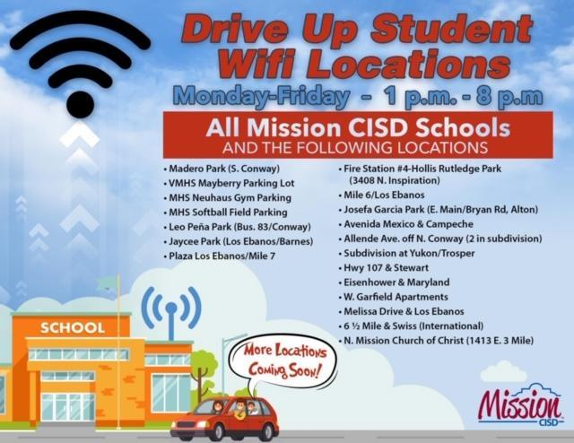 Drive Up Student Wifi Locations Featured Photo